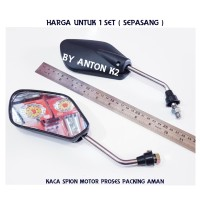 KACA SPION MOTOR SUPRA X 125-SUPRA-SUPRA FI-KHARISMA-GRAND-REVO-ABS