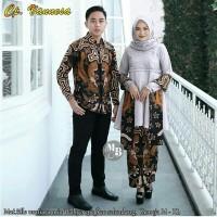 BATIK COUPLE Baju GAMIS COUPLE BROKAT ORIGINAL TERBARU