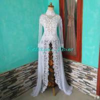 kebaya akad full payed baju pengantin gaun pengantin