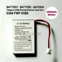 Battery Telepon Rumah GSM Ezitel ETS 938 FWP GSM 6588 LTE 4G Volte FWP