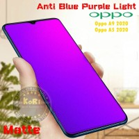 Tempered Glass OPPO A9 2020 A5 2020 Anti Blue Light Matte Anti Gores