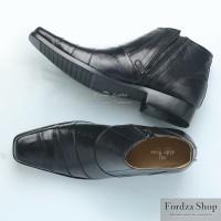 Sepatu Boot Pria Boots Pantofel Formal Resleting Kulit Asli BOOT02