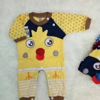 baju kodok baby jumper baby gambar ANAK AYAM