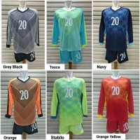 Jersey Setelan Baju Kiper Olahraga Futsal / Sepak Bola No.20