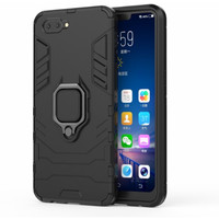 Oppo A3s/A5 - Luxury Hard case Armor KickStand with i-ring