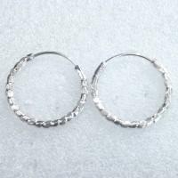 anting ring bulat