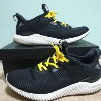 Adidas Alphabounce Core Black Original / sepatu adidas bounce