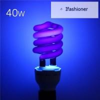 Ifas Lampu LED Ultraviolet UV Spiral 220V 36W 40W E27 Hemat Energi
