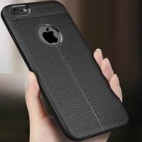 Case Autofokus OPPO RENO 2F Slim Leather Black Case Anti Slip