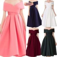 MY CANDY DRESS Wanita Fashion Cewe Baju Pesta Princes