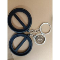 Bahan Baku Pin Gantungan Kunci 2 Sisi ( 45 MM )