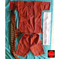 Baju Adat Toraja Anak Laki-Laki untuk Anak SD
