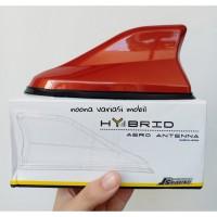 antena mobil sirip hiu mobilio all new brio calya sigra hybrid orange