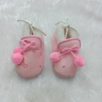 preloved second sepatu baby walker import anak bayi pink