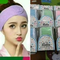 Bandana / Bando Facial / Penahan Poni Untuk Cuci Muka / Masker 8Cm