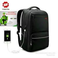 Tiger nu tas ransel laptop usb port charger backpack tigernu