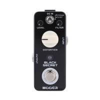 MOOER BLACK SECRET Pedal Efek Gitar Elektrik Micro Distortion dengan