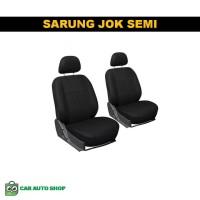 Sarung Jok Mobil Datsun Go Calya BRV Semi Double Kombinasi Bintik