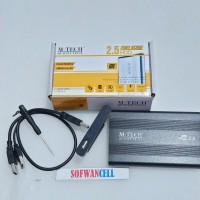 Case IDE / ATA 2.5 inch Casing Hdd Harddisk Laptop Usb v 2.0 M-tech