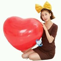 balon hati jumbo / balon latex love / balon latek bentuk hati merah