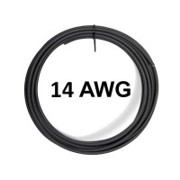 AWG 14 High Quality Silicone Wire Cable Black Kabel AWG14 Warna Hitam