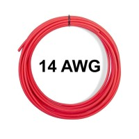 AWG 14 High Quality Silicone Wire Cable Red Kabel AWG14 Warna Merah