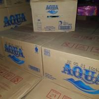 air mineral merk aqua 330ml /botol mini