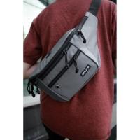 Tas Selempang Pria Zest Grey / Sling Bag / Waist Bag