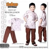disc 25% baju setelan koko anak motif batik RENDRA dari THALUNA