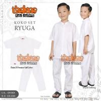 disc 20% baju setelan koko putih anak RYUGA dari THALUNA