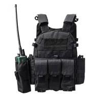 face body rompi anti peluru vest airsoft K-9 POLICE