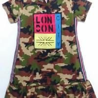 baju anak perempuan ARMY usia 2-4 tahun
