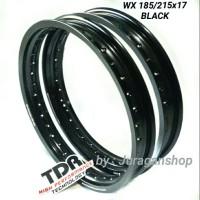 Velg W-Shape 185&215 ring 17 TDR (Black Mirror)