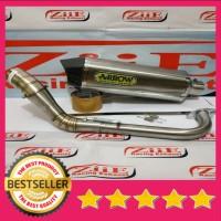 Knalpot ARROW Fullsystem AEROX 155 NMAX 150 155