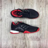 Sepatu Adidas Barricade Boost Black Red Premium Original