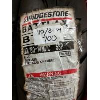 Ban BRIDGESTONE BATTLAX 110 80 14 BT39 UNTUK MOTOR MATIC BELAKANG TUBE