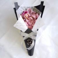 Bouquet Hijab / Buket Jilbab / Buket Ulang Tahun / Buket Bunga Wisuda