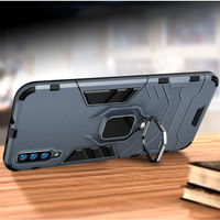 Samsung A70 - Luxury Hard case Armor KickStand with i-ring