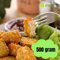 Nugget Ayam Brokoli Keju Halal Homemade Essen No MSG 500gr