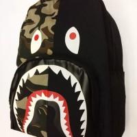 Bape Backpack Shark Camo