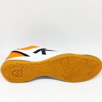 Paling Populer Sepatu Futsal Kelme Original K Strong Putih/Orange New