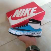 Paling Populer Sepatu Futsal Anak Nike Mercurial X Cr7 High Biru Putih