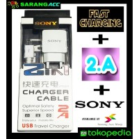 CHARGER WHITE SERIES 2.A SONY COLOKAN MICRO FOR ALL GADGET