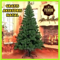 Pohon Natal   Tinggi Pohon Natal : 2,1 Meter Termurah