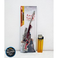 Gantungan Kunci PUBG - Sniper Rifle AWM Skin Sultan