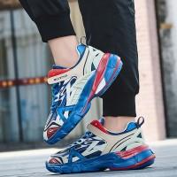 Sepatu Sneakers Casual Sol Tebal untuk Ins Balenciaga Track.4 Inspired