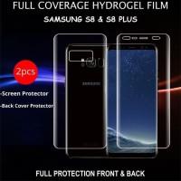 Hydrogel Samsung S8 Plus Anti Gores Depan Belakang Full Cover Edge