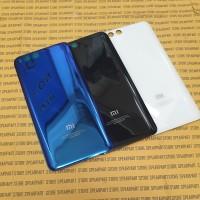Tutup belakang Backdoor Xiaomi Mi6 Mi 6 Original bahan Kaca - Putih