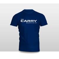 Kaos Baju Pakaian Otomotif Mobil SUZUKI NEW CARRY Logo Font murah