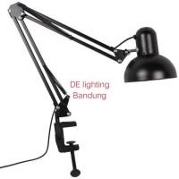 Lampu meja belajar / arsitek / kerja / desk lamp 2 in 1